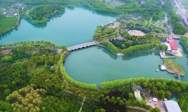 睡进790万㎡湿地公园,每间房都有私人露台!昆山花桥中城假日酒店2晚套餐