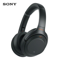 SONY 索尼 WH-1000XM3 头戴式 无线降噪耳机 黑色