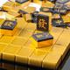 影时光 家用麻将牌 黄金万两 手搓麻将套装 树脂40#