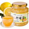 琼皇 蜂蜜柠檬茶500g/瓶 *5件 64.5元(合12.9元/件)