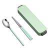 WORTHBUY 沃德百惠 304不锈钢便携餐具套装 8.8元包邮(需用券)
