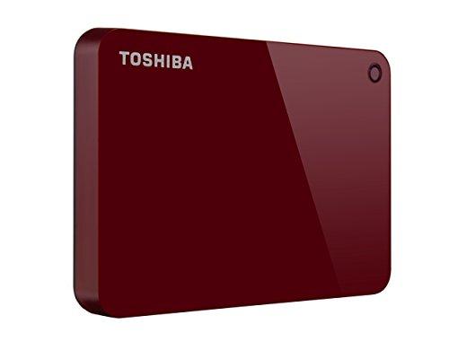 TOSHIBA 东芝 CANVIO CONNECT II 1TB 移动硬盘 红色 1TB