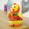 gododo布娃娃礼品公仔猪玩偶玩具猪生肖民族风玩偶毛绒布艺公仔猪 5.9元(需用券)