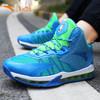安踏儿童篮球鞋男童鞋夏季高帮中大童小学生NBA气垫运动鞋子 149元