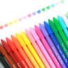 Touch mark水性纤维笔马克笔彩色中性笔简约彩色笔小清新可爱纤维水性笔学生手账笔日记禅绕画笔彩色勾线笔 10.8元