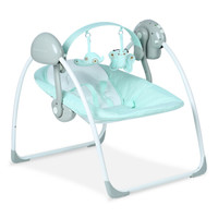 Babyruler 婴儿电动摇椅  CS6609 浅绿色