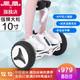 凤凰 凤凰双轮儿童两轮电动平衡车成人智能体感蓝牙遥控自平衡代步车 10寸标准白