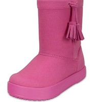 Crocs 小芮莉洛基靴 女童短靴