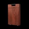 双枪乌檀木整木菜板 加厚切菜板砧板实木家用擀面案板圆形方形菜墩 方形3-5人用(40*28*2.5cm) 86.97元