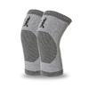 蒸舒康 保暖护膝 灰色普及款 2只装 5.9元包邮(需用券)