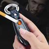 定制汽车钥匙扣激光雕刻个性创意车牌点烟器车钥匙挂件车载打火机 33元