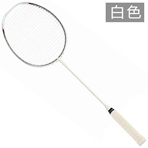 缘诺亿 全碳素 羽毛球拍 单拍纯色男女羽毛球拍SK88#单支