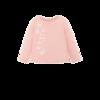 女童蝴蝶绣花卫衣套头衫 74.2元