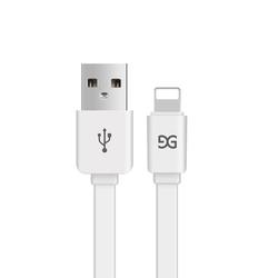 GUSGU 古尚古 iPhone数据线 白色1米 2条装