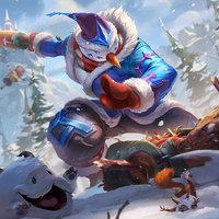 《英雄联盟》持胡萝卜的雪人 易