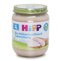 HiPP 喜宝 有机鸡肉泥 125g