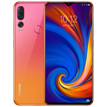 Lenovo 联想 Z5s 智能手机 蜜恋橘 6GB 128GB