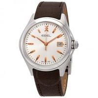 EBEL玉宝 WAVE系列 1216330 男士玫瑰金时装腕表
