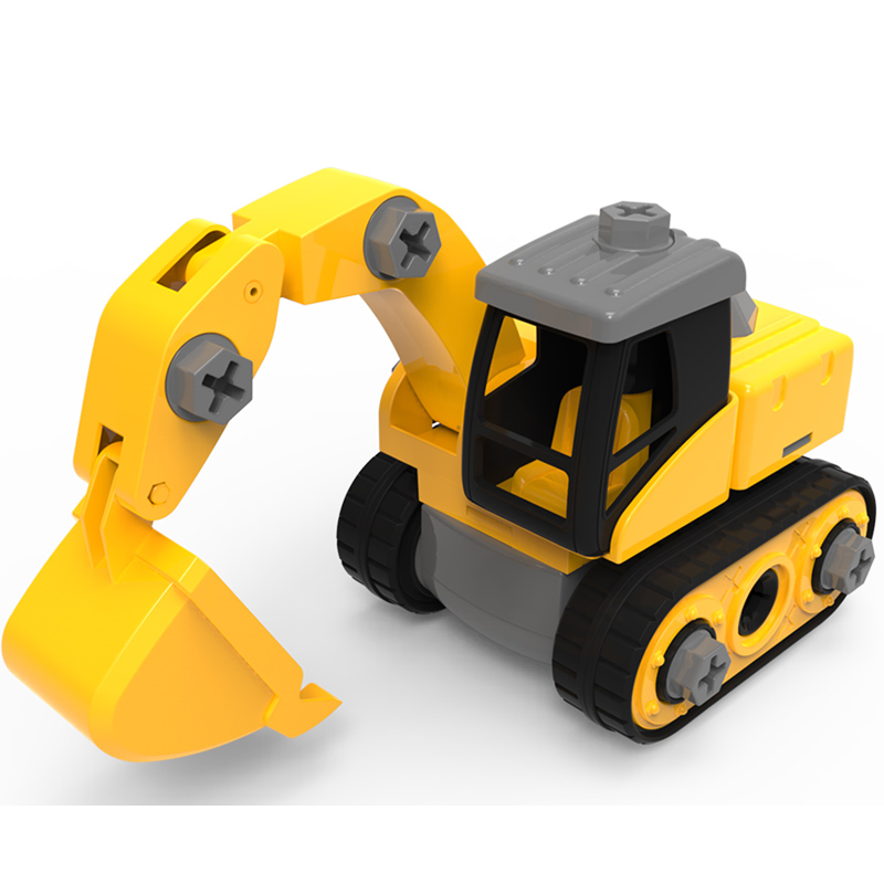 buddyfun 贝芬乐 宝宝滑行工程车 送玩具螺丝刀 多款可选