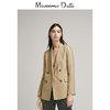 春夏折扣 Massimo Dutti 女装 修身版双排扣西装外套 06008778505 690元