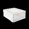 网易严选 抽屉式透明储物柜 28.8L M号 127元