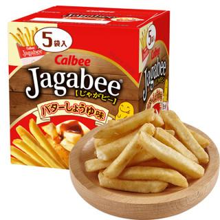Calbee 卡乐比 薯条三兄弟 黄油酱油味薯条 80g *10件