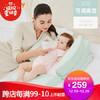 史威比 防吐奶斜坡垫婴儿防溢奶斜坡枕头新生儿bb喂奶枕宝宝防呛奶床垫 绿色双层 259元