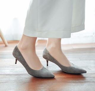 网易严选 女士金属跟高跟鞋