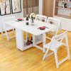 卡梵罗  实木可折叠饭桌 白色 1212元包邮