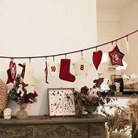 Warmest 致暖 圣诞袜口袋挂饰条幅