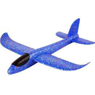 DODOELEPHANT 豆豆象 儿童手掷飞机 滑翔机模型 蓝色 32cm