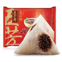 五芳斋 速冻粽子 豆沙口味 500g(5只装 精选糯米 早餐食材)