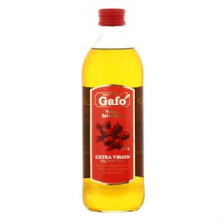 GAFO 嘉禾 红标 西班牙原瓶进口 特级初榨橄榄油 1L *2件