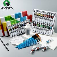 Marie's 马利 支装丙烯画颜料套装 单盒12m/支