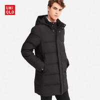 UNIQLO 优衣库 409332 男士无缝羽绒服 (XL、藏青色)
