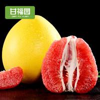 甘福园 红心蜜柚 10斤 整箱装