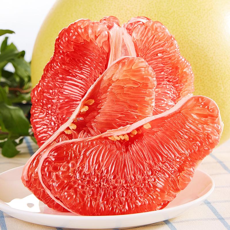 果融 红心柚子 10斤(3-4个)