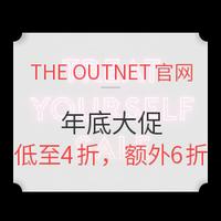 促销活动:THE OUTNET官网 女士服饰鞋包 年底大促