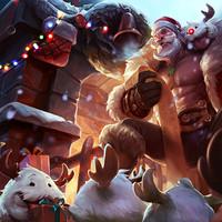 《英雄联盟》圣诞老人 布隆
