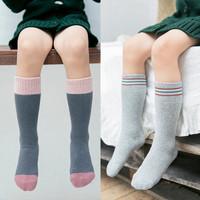 沐恩 儿童长筒袜 混色3双装