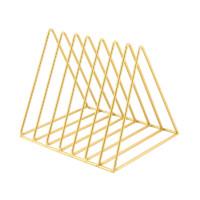 TIANSE 天色 三角书立 金色