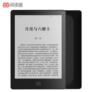 OBOOK 国文 86L 当当阅读器8(星石黑) 6英寸超轻薄 300ppi纯平墨水屏 33级阅读灯 (8GB、黑色)