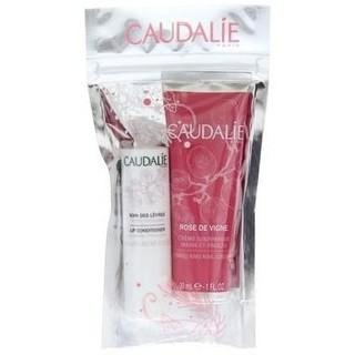 凑单品 : CAUDALIE 欧缇丽 护肤2件套(葡萄籽润唇膏 4.5g+ 玫瑰护手霜 30ml)
