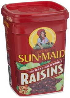 Sun Maid阳光少女 加州葡萄干罐装500g(美国进口)