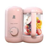 小白熊 HL-0972 宝宝辅食机 粉色