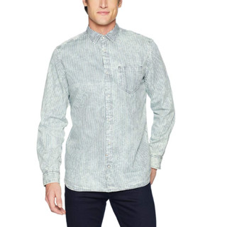 Calvin Klein Dobby Stripe 41I9025 男士条纹衬衫