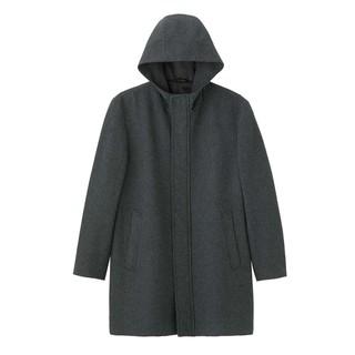GU 极优 307709 男士毛混纺大衣