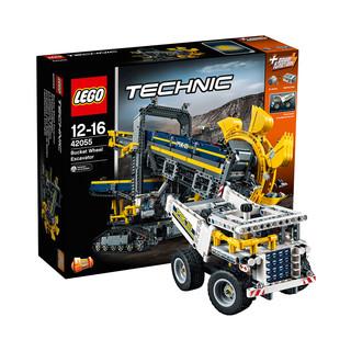 LEGO 乐高 科技系列 42055 斗轮挖掘机 + 建筑系列 21041 中国长城
