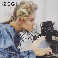 ZEGL 复古珍珠 发夹