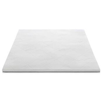 11日:顾家家居(KUKA)泰国进口天然乳胶床垫1.8米 单双人薄床垫 (含内外套) 榻榻米 可折叠 200*180*5cm